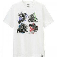 Мужская футболка UNIQLO MEN MONSTER HUNTER SHORT-SLEEVE GRAPHIC T-SHIRT 167839000S