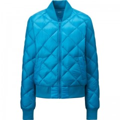 Ультралегкий пуховик UNIQLO WOMEN ULTRA LIGHT DOWN QUILTED BLOUSON JACKET 140897066L